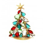 Xmas Tree Standing Decoration 2020 #13 ~ Multicolor