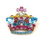 Small Crown Pin ~ #4