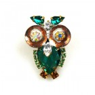 Owl Small ~ Emerald