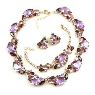 Lite Fountain Set ~ Violet Amethyst