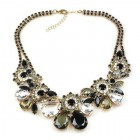 Parisienne Bloom Necklace ~ Night