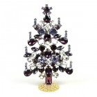 Xmas Tree Standing Decoration 2019 #06 ~ Clear Purple