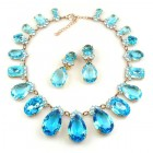 Effervescence Necklace Set ~ Aqua
