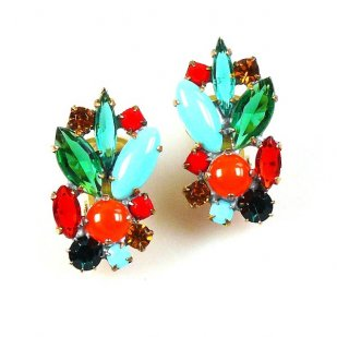 Empress Earrings Clips ~ Classic