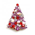 Xmas Tree Brooch #11 ~ #02