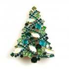 Xmas Tree Brooch #11 ~ #03