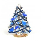2020 Zig-Zag Xmas Tree Stand-up Decoration 9cm ~ #1