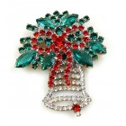 Christmas Bell ~ Brooch #2