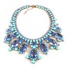 Absolue Necklace ~ Opaque Turquoise Blue