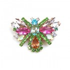 Colorful Butterfly Brooch ~ #4