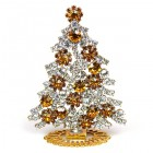 Xmas Tree Standing Decoration 2020 #08 Clear Topaz