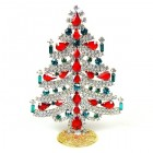 Xmas Tree Standing Decoration 2020 #04 ~ Clear Red Emerald