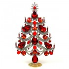 Xmas Tree Standing Decoration 2020 #02 ~ Red Clear