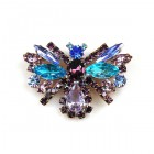 Colorful Butterfly Brooch ~ #5