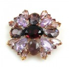 Far Away Brooch Classic ~ Purple Violet