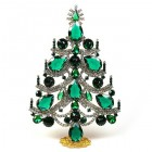 Xmas Tree Standing Decoration 2016 #02 ~ Emerald Clear