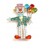 Clown with Balloons ~ Pin #1