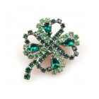 Four-Leaf-Clover Pin ~ Smaller