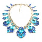 Fancy Essence Necklace ~ Blue Aqua