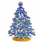 Xmas Tree Standing Decoration 2020 #08 Blue Sapphire