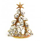 Xmas Tree Standing Decoration 2020 #13 ~ Clear Crystal
