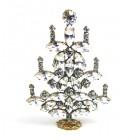 Xmas Tree Standing Decoration 2020 #15 ~ Clear Crystal