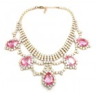 Mystery Necklace ~ Crystal Pink