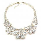 Parisienne Bloom Necklace ~ Crystal Radiance