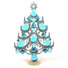 Xmas Tree Standing Decoration 2019 #02 ~ Aqua Clear