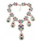 Ellie Chunky Necklace ~ Multicolor #2