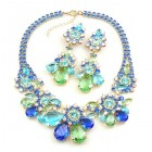 Parisienne Bloom Necklace Set ~ Frosty Tones