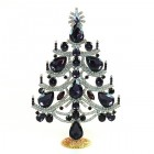 Xmas Tree Standing Decoration 2020 #02 ~ Purple Clear