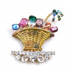 Easter Basket ~ Brooch