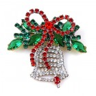 Christmas Bell ~ Brooch #1