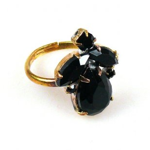 Marina Ring ~ Black