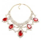 Mystery Necklace ~ Crystal Red