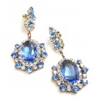 Infinite Dream Earrings Pierced ~ Light Sapphire