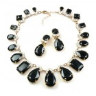 Effervescence Necklace Set ~ Black