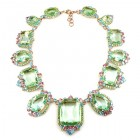 Candy Puffs Necklace ~ Green