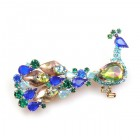 Peacock Brooch #3