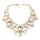 Dolce Vita Extra in Clear Crystal ~ Necklace