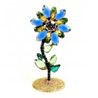 Flower Stand Up Decoration ~ Blue Yellow