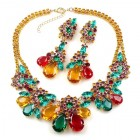 Parisienne Bloom Necklace Set ~ Summer