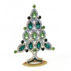 Xmas Tree Standing Decoration 2020 #10 Emerald Green Clear