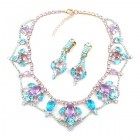 Roxanne Lite Set with Earrings ~ Aqua Violet