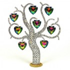 Four Seasons Tree Decoration ~ Vitrail Hearts