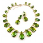 Effervescence Necklace Set ~ Olive