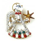 Angel with Star ~ Pin