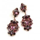 Fatal Passion Earrings Pierced ~ Purple