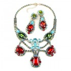 Magnifique Necklace Set with Earrings ~ Classic